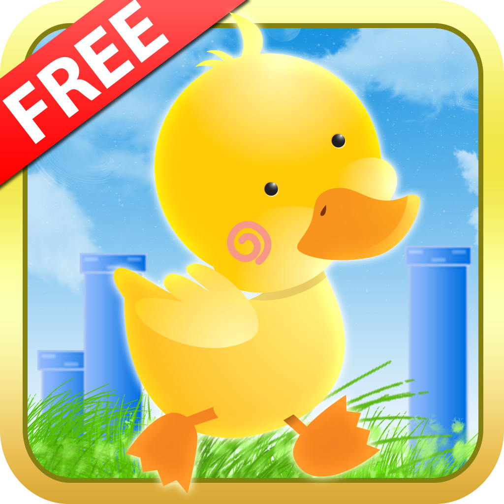 A Fun Game Duck Run - Adventure of a Flappy Tiny Snow Bird